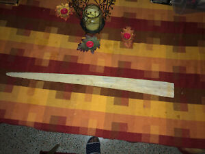 "Vintage Swordfish Bill Scrimshaw 31"" Fish Bone"