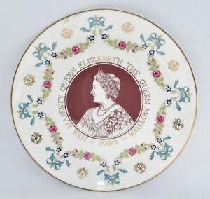 Royal Doulton The Queen Mother 80th Birthday Plate - 1980 (21cm)