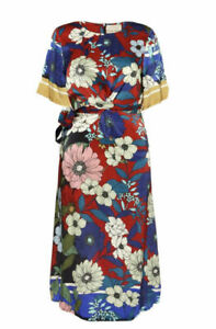PHASE EIGHT Margot Floral Dress Size 12 Rrp £130 BNWT