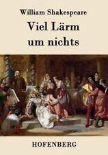 Viel Larm Um Nichts by William Shakespeare (2015, Paperback)