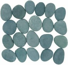 "21 Craft Rocks for Rock Painting, Extremely Smooth Flat Stones, 2""-3.5"" in. each"