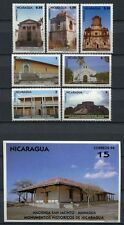 NICARAGUA 1994 Hist. Architektur Bauwerke Kirchen Kloster 3484-3490 + Bl.236 **