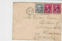 united states 1894 detroit. mich cancel to germany  stamps cover ref 21279