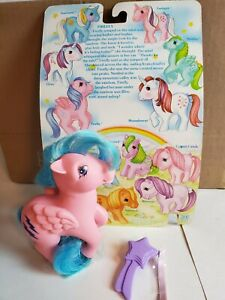 Vintage G1 My Little Pony Pegasus Firefly New with Card 1983 Hasbro