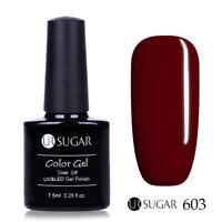 7.5ml UR SUGAR Soak Off UV Gel Nail Polish Nail Art Gel Varnish Pure Tips 603