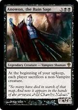 ANOWON, THE RUIN SAGE Worldwake MTG Black Creature — Vampire Shaman RARE