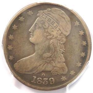 "1839-O Capped Bust Half Dollar 50C - PCGS VF Details - Rare ""O"" Mint Coin!"