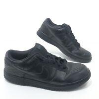 Nike SB Dunk Low 6.0 Blackout Black Skateboarding Shoes - Mens Size 12 RARE