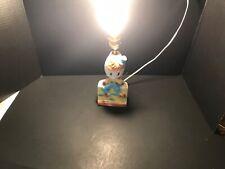 Vintage Humpty Dumpty Nursery Rhyme 👶 child's portable Lamp Porcelain Works
