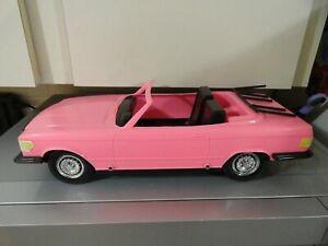 "@@ Barbie MERCEDES-BENZ friction sports car for 11"" dolls by MERITUS! WOW!! @@"
