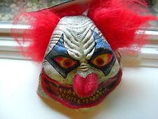 Evil Clown Mask Holloween Costume Scary Creepy Adult Horror Fancy  new