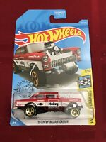 2019 HOT WHEELS  '55 CHEVY BEL AIR GASSER HOLLEY