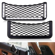 Car Auto String Mesh Net Bag Storage Pouch For Cell phone Gadget Holder Cage New