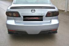 CUP Diffusor Seiten Ansatz SET CARBON für Mazda 6 VI MK1 MPS GG Flap Heck