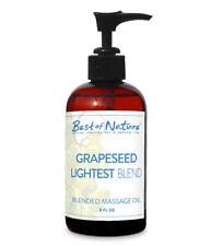 Best of Nature Grapeseed Lightest Blend Massage Oil - 8 Ounces