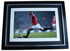Leigh Halfpenny Signed Autograph 16x12 framed photo display Wales Rugby Union