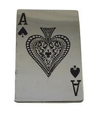 Ace of Spades Retro Belt Buckle-