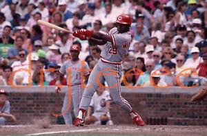 1990 Herm Winningham CINCINNATI REDS - 35mm Baseball Slide (MP1)