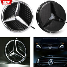 Illuminated LED Light Front Grille Star Emblem Badge for Mercedes Benz 2011-2016