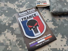 """SNAKE PATCH """" FRANCE PUNISHER """" couleur OPEX airsoft ARMEE commando SCRATCH"""