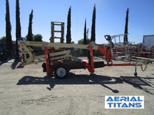 2013 JLG T350 Towable 35ft Boom Lift