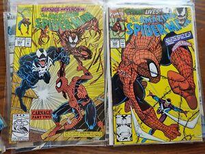 10 Spiderman comics nm