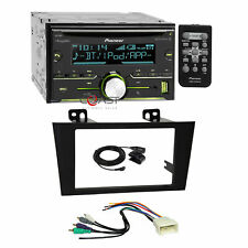 Pioneer CD BT USB Sirius Stereo Dash Kit Amp Harness for 2000-04 Toyota Avalon