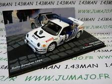 voiture 1/43 IXO Altaya Rallye FORD RS200 Rallye Suède 1986 Grundel