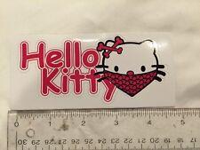 Hello Kitty Bones And Bandana Decal Sticker