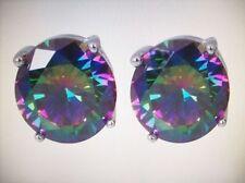 Silver Plated Topaz Fine Earrings