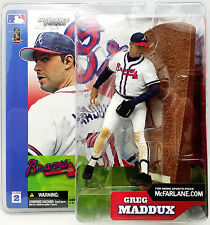 GREG MADDUX  Series 2--McFARLANE Action Figure --2014 HOF Atlanta Braves Pitcher