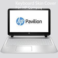 Silicone Keyboard Skin Cover For HP Pavilion 15E Series Sleekbook 15B 15TB<LJ751