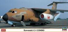 Hasegawa 10698 - 1/200 Kawasaki C-1 Combo (2 Kits) - New