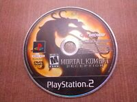 Sony PlayStation 2 PS2 Disc Only Tested Mortal Kombat Deception Ships Fast
