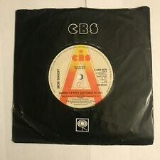 """Moe Bandy - """"Cowboy's Ain't Supposed To Cry""""  7"""" Promo (1978) S CBS 6425 /  SIN8"""