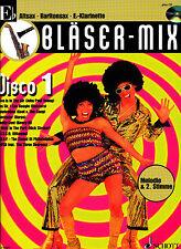 Bläser-Mix -  Disco 1 für Es-Instrumente (Klar., Alt-Sax., Bariton-Sax.) mit CD