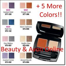 Avon True Color Eyeshadow Duo Warm Cashmere Full Size