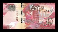 B-D-M Kenia Kenya 50 Shillings 2019 Pick New Design SC UNC