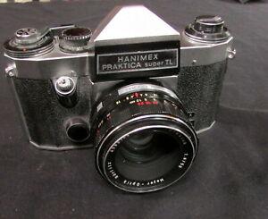Hanimex Praktica Super TL 35mm SLR Film Camera with Meyer Optik 1.8/50 lens
