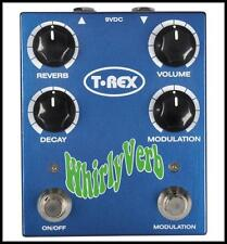 T-Rex Engineering Whirly Verb Reverb Guitar Effects Pedal New