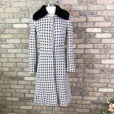 Marciano Long Coat Wool Jacket Fur Collar Winter Woman Size XS