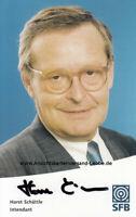 Horst Schättle * 1939 Oberndorf am Neckar, Baden-Württemberg - Intendant SFB