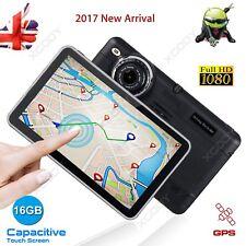 "New HD 1080P 7"" Android Car DVR Dash Cam Vehicle Video Camera Recorder GPS Nav"