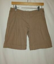 Regular Size Bermuda, Walking 100% Cotton Shorts for Women