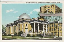 LAM(D) Longview, TX - First Baptist Church Exterior - Educational Bldg.(Inset)