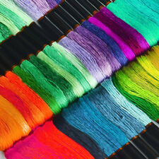 Embroidery Floss Rainbow Color 150 Skeins Per Pack Cross Stitch Threads Crafts