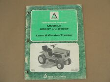 Allis Chalmers 808GT 810GT Lawn & Garden Tractor Owners Manual Maintenance 1976