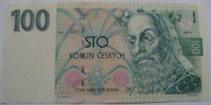 Czech Republic, 100 Korun 1993, UNC  banknote