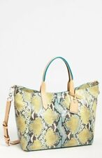 Cole Haan Crosby Large Leather Poolside Snake Crossbody Bag