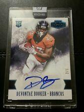 #2/5 Devontae Booker Rookie Auto 2016 Panini Honors Broncos Autograph Raiders